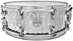 MPX 14 x 5.5 Hammered Steel Snare